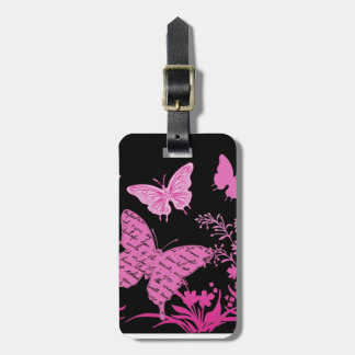 Contempo Butterflies...luggage tag Travel Bag Tags