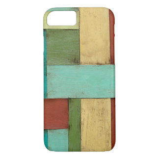 Contempoary Coastal Multicolored Painting iPhone 8/7 Case