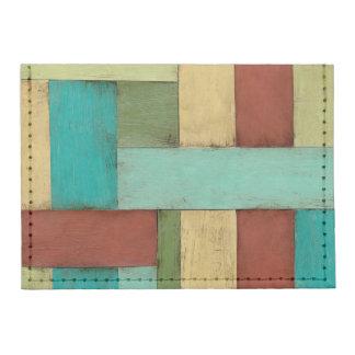 Contempoary Coastal Multicolored Painting Tyvek® Card Wallet