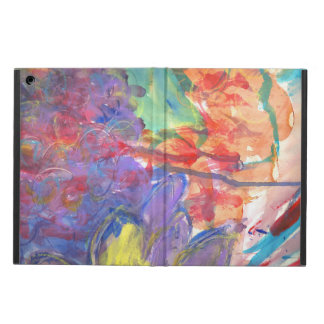 Contemporary Abstract Art Painting by Zona Case For iPad Air
