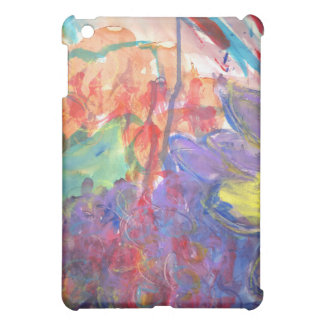 Contemporary Abstract Art Painting by Zona Cover For The iPad Mini