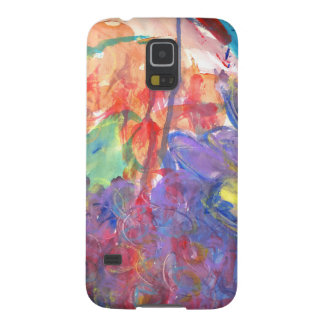Contemporary Abstract Art Painting by Zona Galaxy S5 Cases