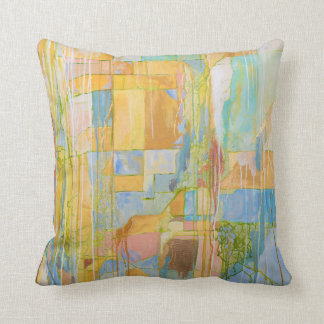 Contemporary Abstract Art Pillow