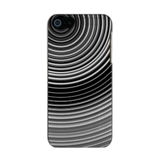 Contemporary Abstract Black and White Incipio Feather® Shine iPhone 5 Case