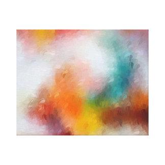 Contemporary Abstract Canvas Print