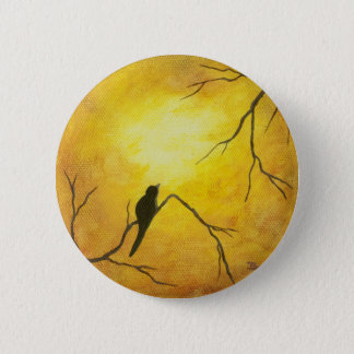 Contemporary Abstract Painting Design 6 Cm Round Badge