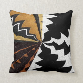 Contemporary African Graphic Print Cushion