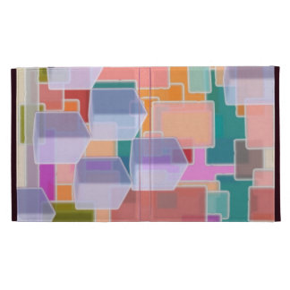 Contemporary Art Abstract Pattern iPad Folio Cases