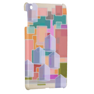 Contemporary Art Abstract Pattern iPad Mini Cases