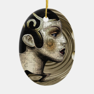 Contemporary: Art Deco/Art Christmas Ornament