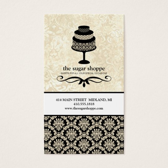 Contemporary Bakery Business Cards