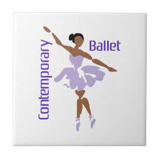 CONTEMPORARY BALLET SMALL SQUARE TILE