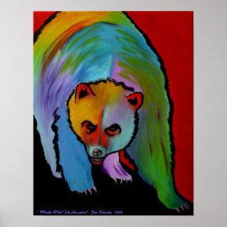 Contemporary Bear Print