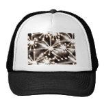Contemporary Black & White Art Hats