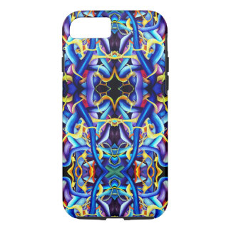 Contemporary Blue Abstract - Depth Illusion iPhone 8/7 Case