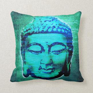 Contemporary Buddha Designer Cushion/Pillow Throw Pillow