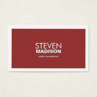 Contemporary Business Card