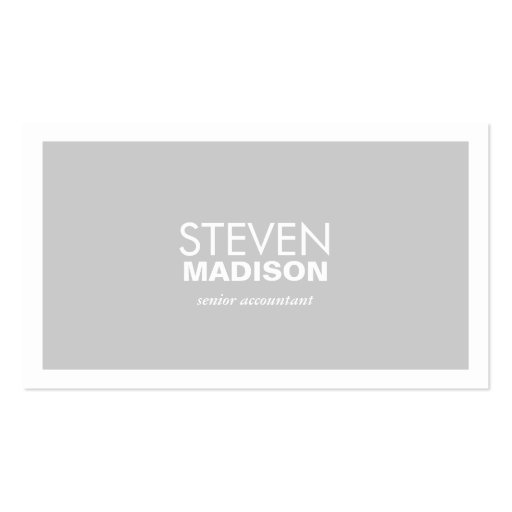 Contemporary Business Card Template