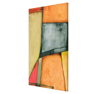Contemporary Colorful Geometric Shapes Canvas Print