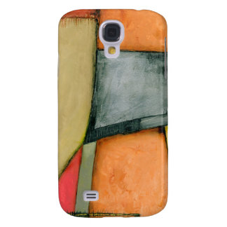 Contemporary Colorful Geometric Shapes Galaxy S4 Case