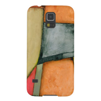 Contemporary Colorful Geometric Shapes Galaxy S5 Case