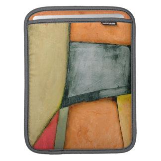 Contemporary Colorful Geometric Shapes iPad Sleeve