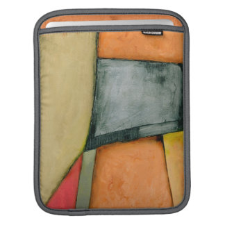 Contemporary Colorful Geometric Shapes iPad Sleeves