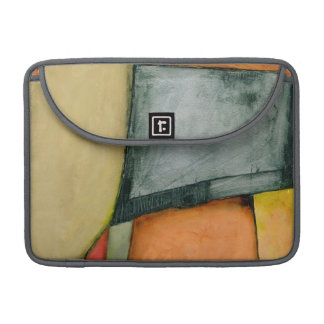 Contemporary Colorful Geometric Shapes Sleeve For MacBook Pro