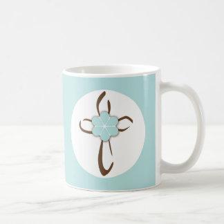 Contemporary Cross Coffee Mug
