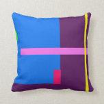 Contemporary Dark Purple Pillows