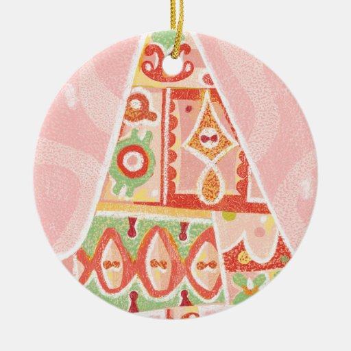 Contemporary Decorative Christmas Tree Christmas Tree Ornament