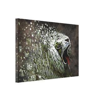 contemporary decorative table gallery wrap canvas
