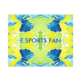 Contemporary E Sports Abstract Canvas Print