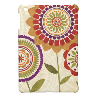 Contemporary Fall Flowers Case For The iPad Mini