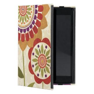Contemporary Fall Flowers iPad Mini Cover