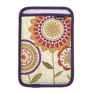 Contemporary Fall Flowers iPad Mini Sleeve