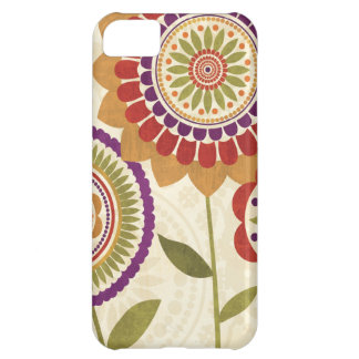 Contemporary Fall Flowers iPhone 5C Case