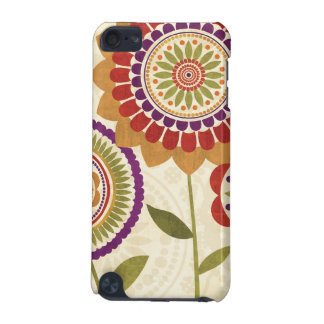 Contemporary Fall Flowers iPod Touch (5th Generation) Covers