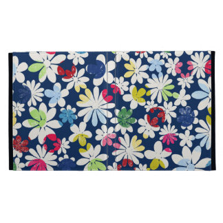 Contemporary Floral Pattern iPad Case