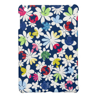 Contemporary Floral Pattern Cover For The iPad Mini