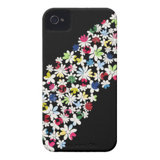 Contemporary Floral Pattern iPhone 4 Cover