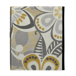 Contemporary Floral Patterns iPad Folio Covers