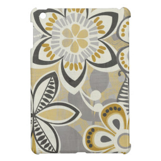 Contemporary Floral Patterns iPad Mini Cover