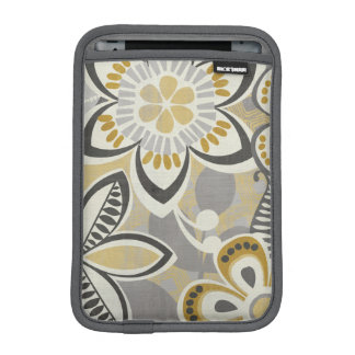 Contemporary Floral Patterns iPad Mini Sleeve