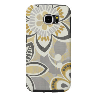Contemporary Floral Patterns Samsung Galaxy S6 Cases