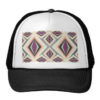 Contemporary Geometric Design Cap