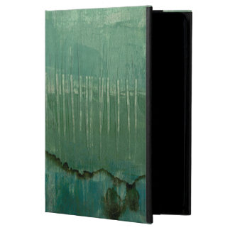 Contemporary Green Watercolor iPad Air Case