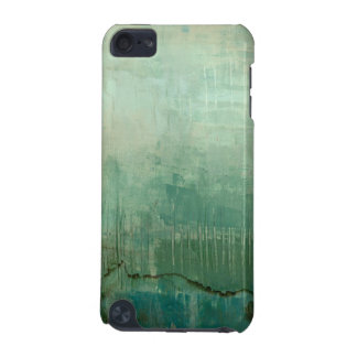 Contemporary Green Watercolor iPod Touch (5th Generation) Covers
