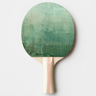 Contemporary Green Watercolor Ping Pong Paddle