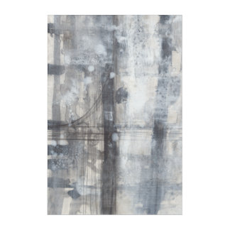Contemporary Grey Painting Acrylic Print